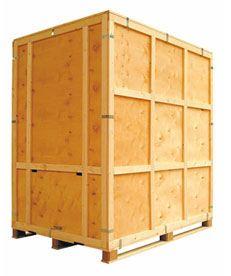 a wooden vault