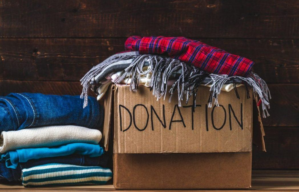 Where to Donate Items Before and After a Holiday Move