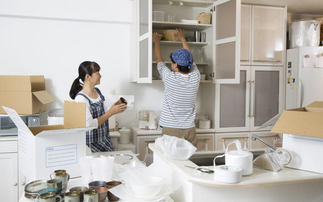How to Line Kitchen Shelves and Cabinets Before Unpacking